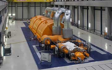 Регулирование турбин