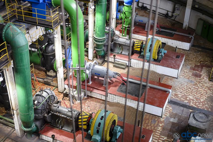 ЛСУ насосных агрегатов с регулируемыми гидромуфтами