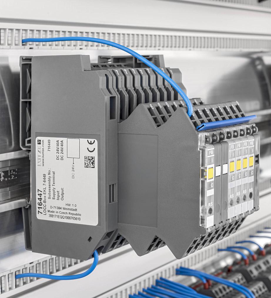 Умный контроль электрического тока с помощью LOCC BOX