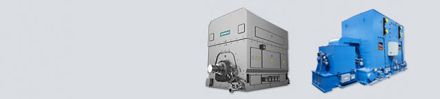 Motor for applications with highest power and torque